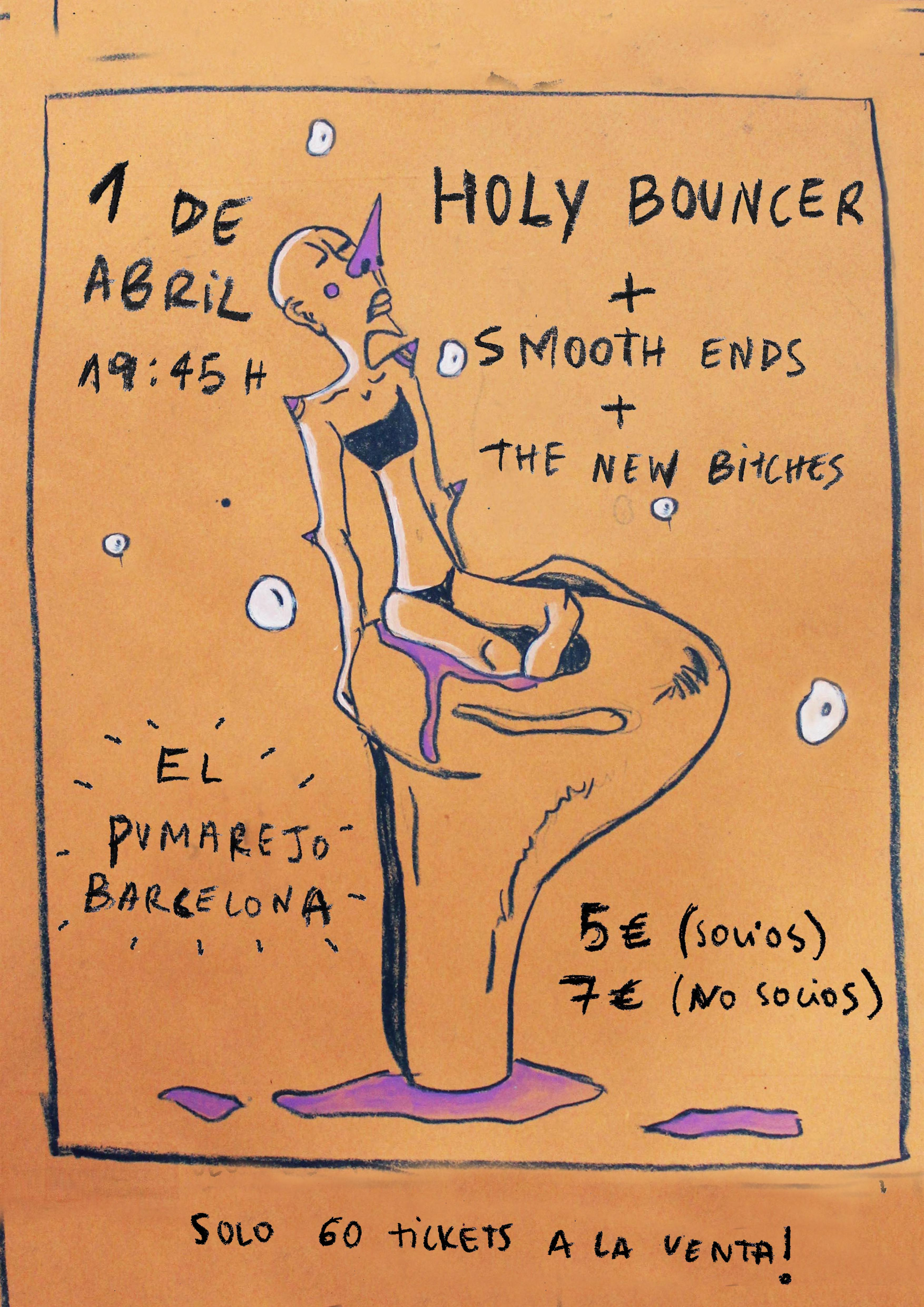 Holy Bouncer - Barcelona