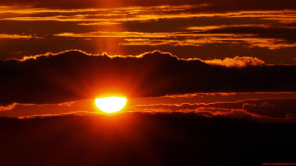 countrysside sunrise