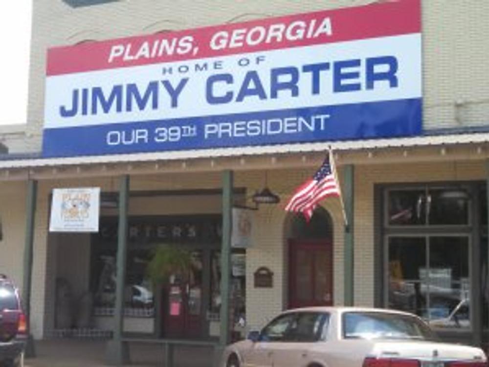 jimmy carter banner