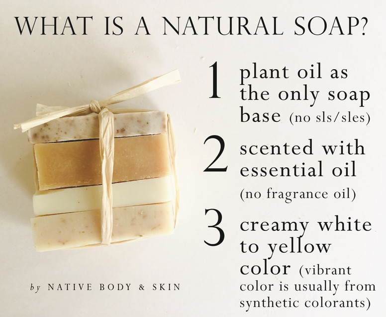 What is natural soap?