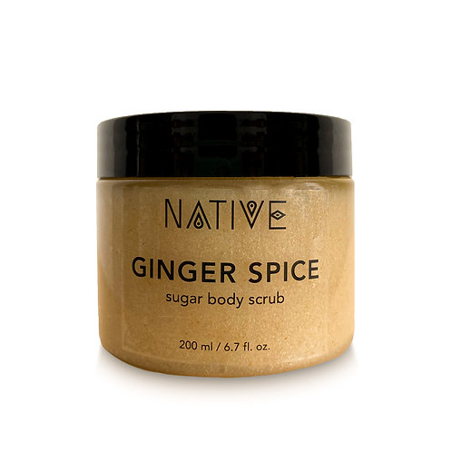 Ginger Spice Body Scrub