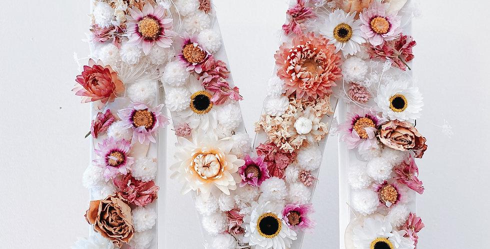 Lettre fleurie Personnalisée
