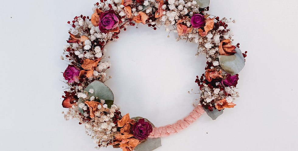 Couronne Baby rosa