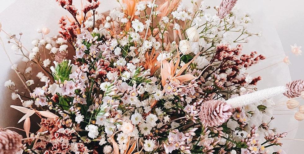 Bouquet fleurs séchées personnalisé