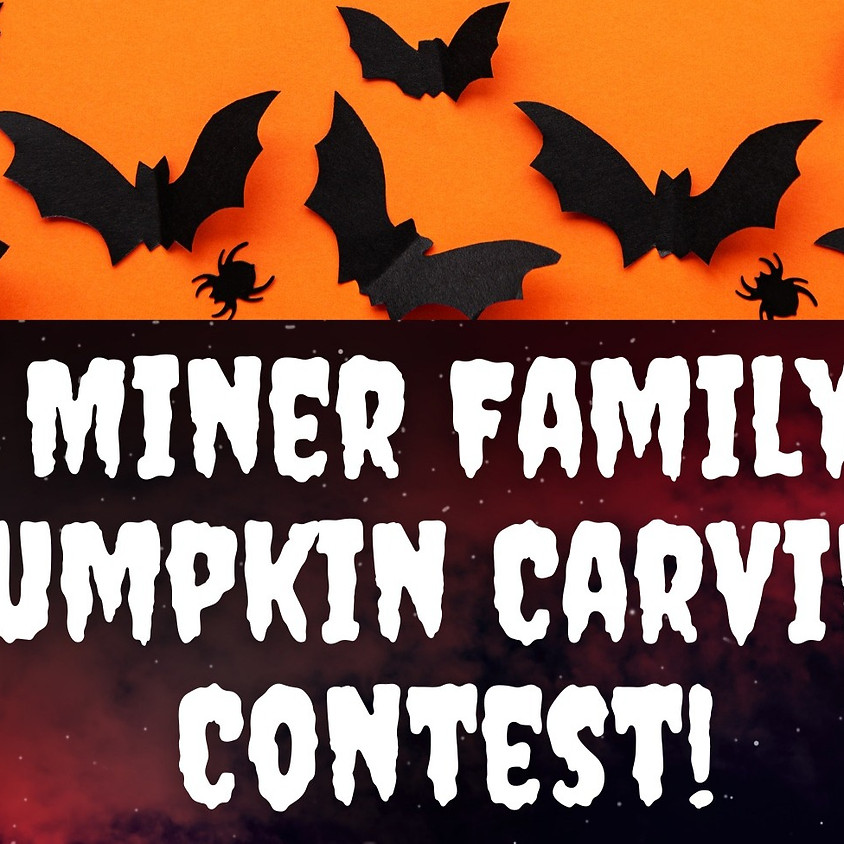 Miner Family Pumpkin Carving Contest