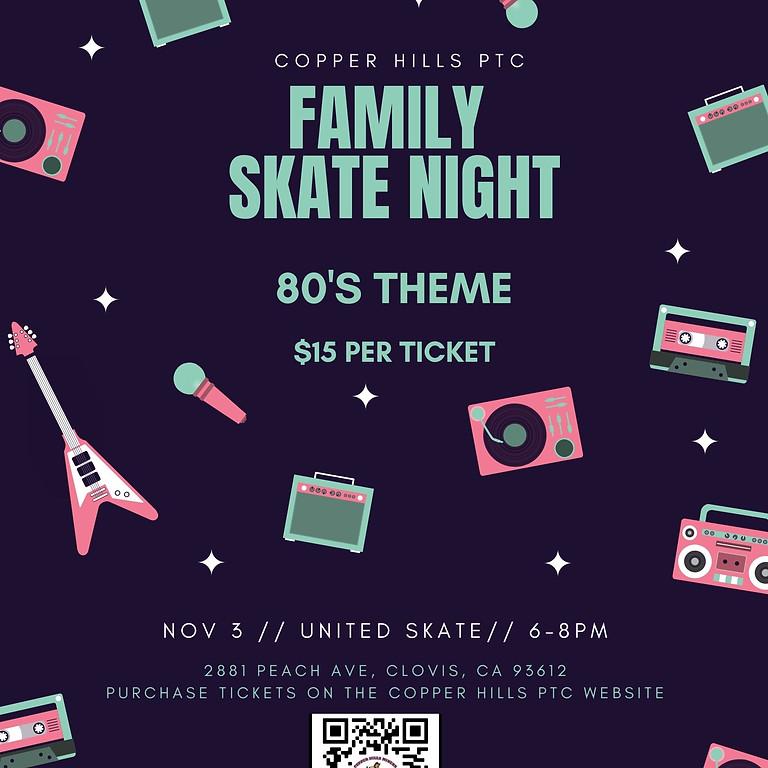 Family Fun Skate Night