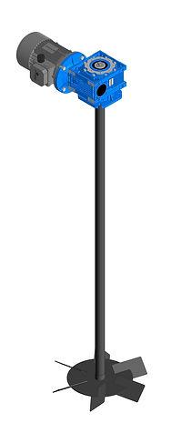 МТ-20190315-2 - Мешалка турбинная (вал 4