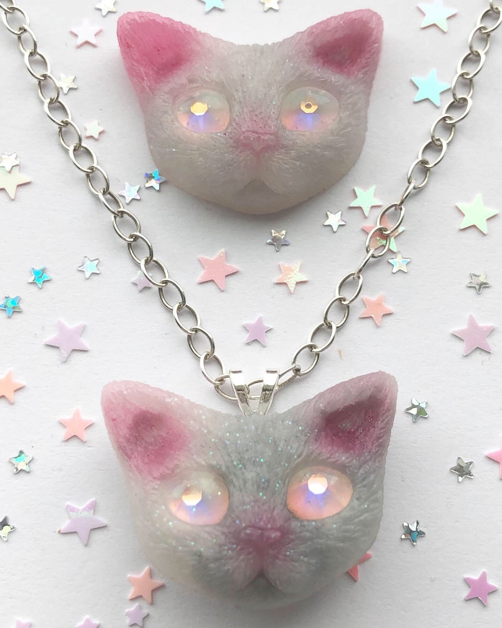 Kosmic Kitties  Pendant