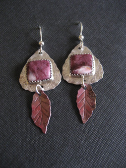 Purpler Spiny Oyster Earrings