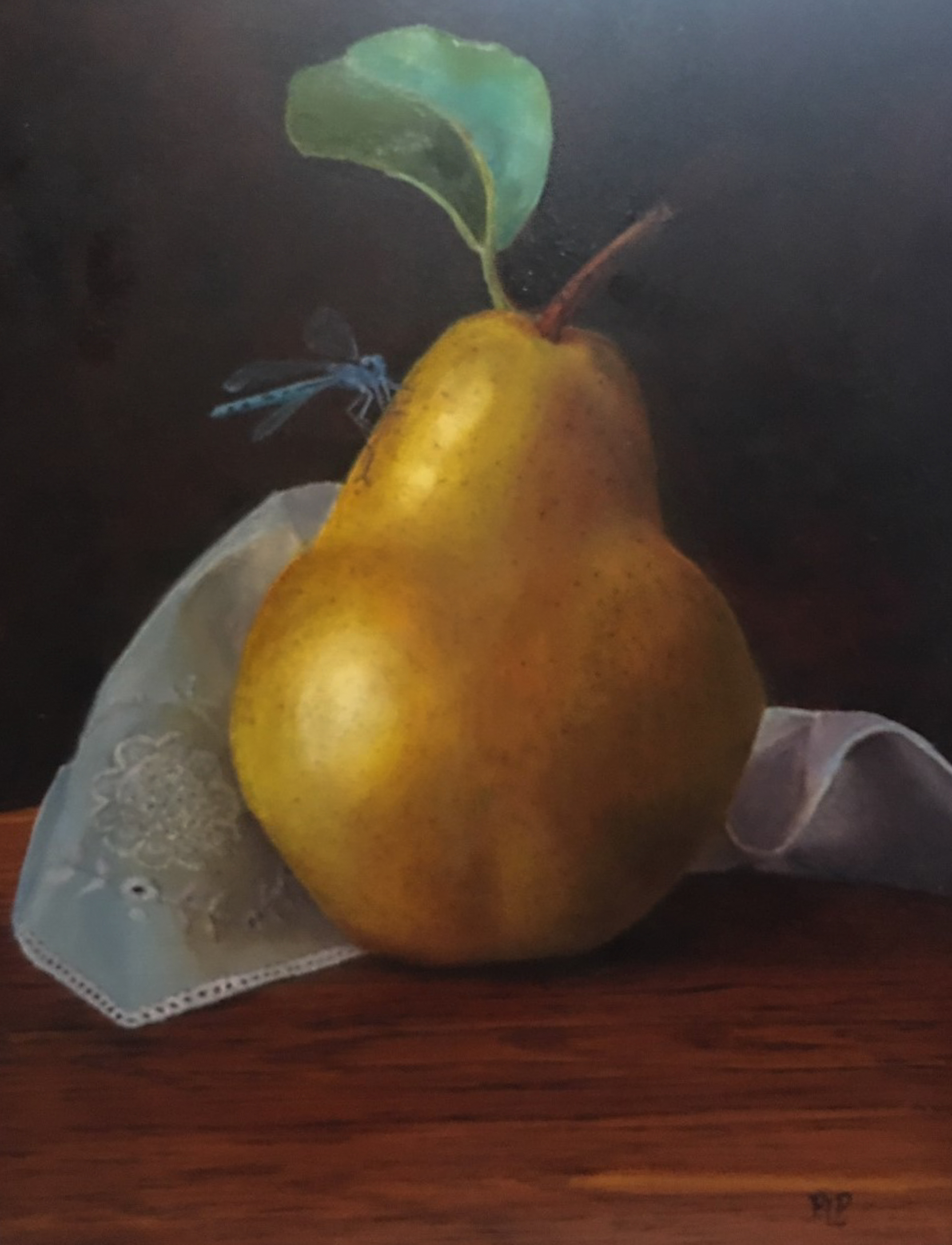 Damsel and Pear