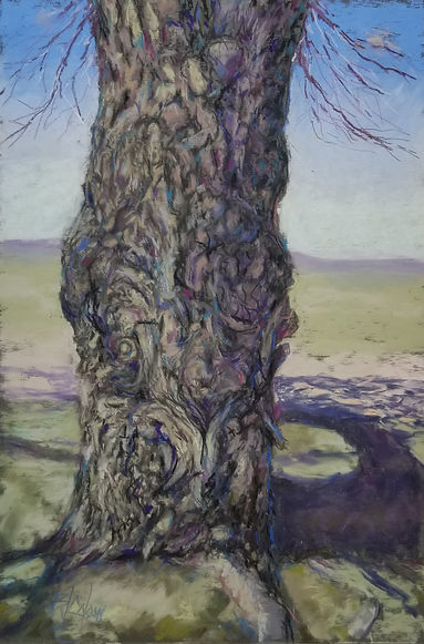 2The Tree - pastel Billie J. Colson.jpg