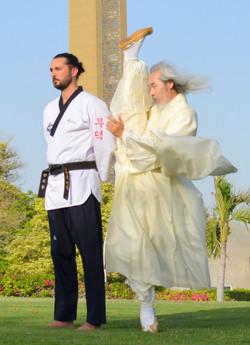 Grand Master Kang and Master Grant