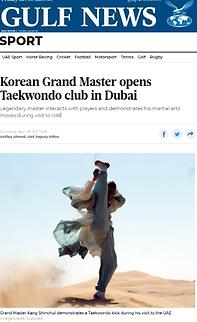 Korean Grand Master opens Taekwondo club in Dubai