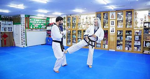 Teaching by Grand Master Kang
