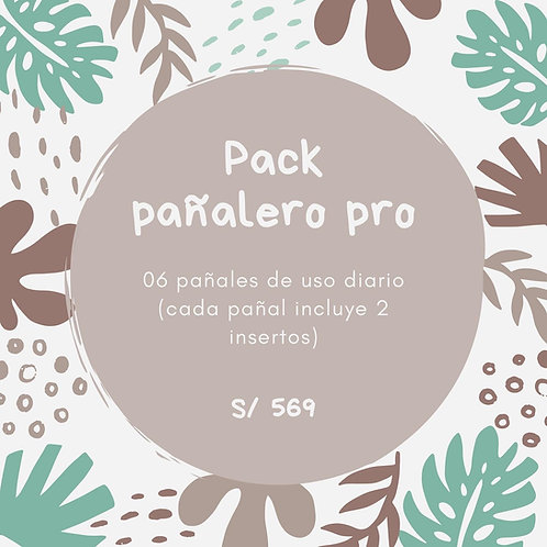 Pack pañalero pro