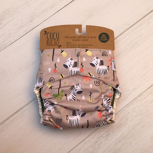 Zebras saltarinas