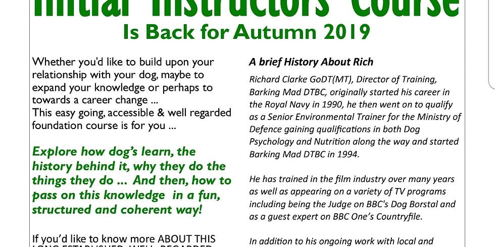 Initial Instructors Course  - Part 1