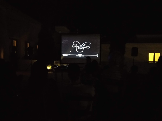 Presentation by the Spanish animation studio Cabeza Voladora at the Village Square on the 8th of August 2019
