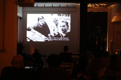 "Screening of documentary ""Persistence of Vision"" by Kevin Schreck at ANANAs 8bit Coffee, on the 10th of November."