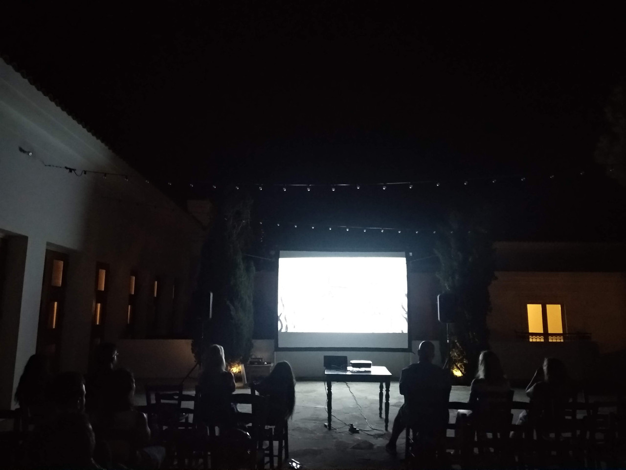 Screenings at Anassa Hotel's Village Square