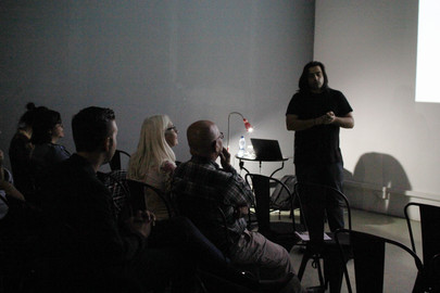 """Presentation by Michael Kalopedis at Technopolis20 on the subject """"Animations Made in Cyprus: The Story of Zedem Media"""", on the 4th of November."""