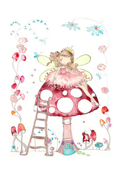 ©caraghbuxton - Toadstool Fairy