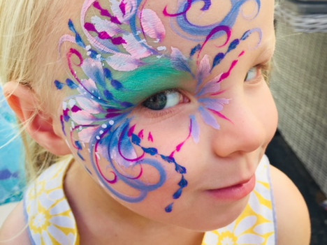 face painting south london