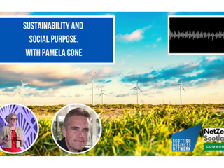 Net Zero Scotland Community: Sustainability and Social Purpose with Pamela Cone