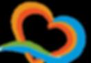 Paradise Weddings and Travel Logo Heart