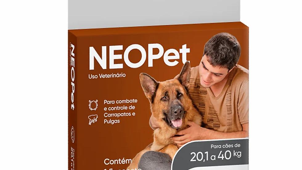 Antipulgas e Carrapatos Neopet 2,68ml Cães 20,1 a 40Kg Ourofino