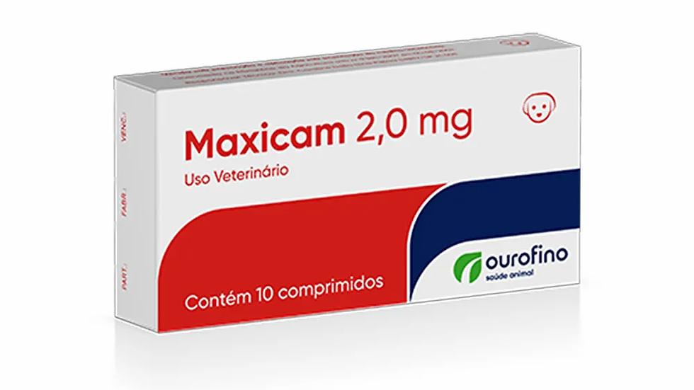 Maxicam Ourofino 2mg 10 Comprimidos