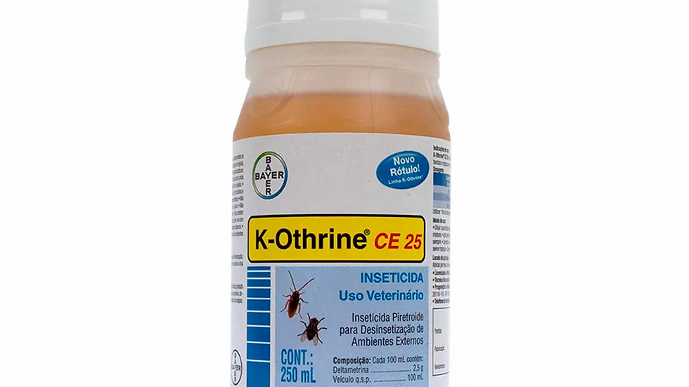 Inseticida K-Othrine CE 25 250ml