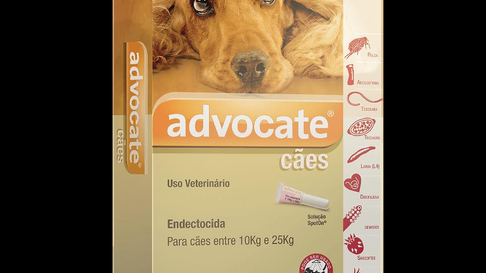 Advocate 2,5ml Cães 10 a 25kg