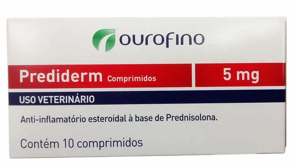 Prediderm Ourofino 5mg 10 Comprimidos