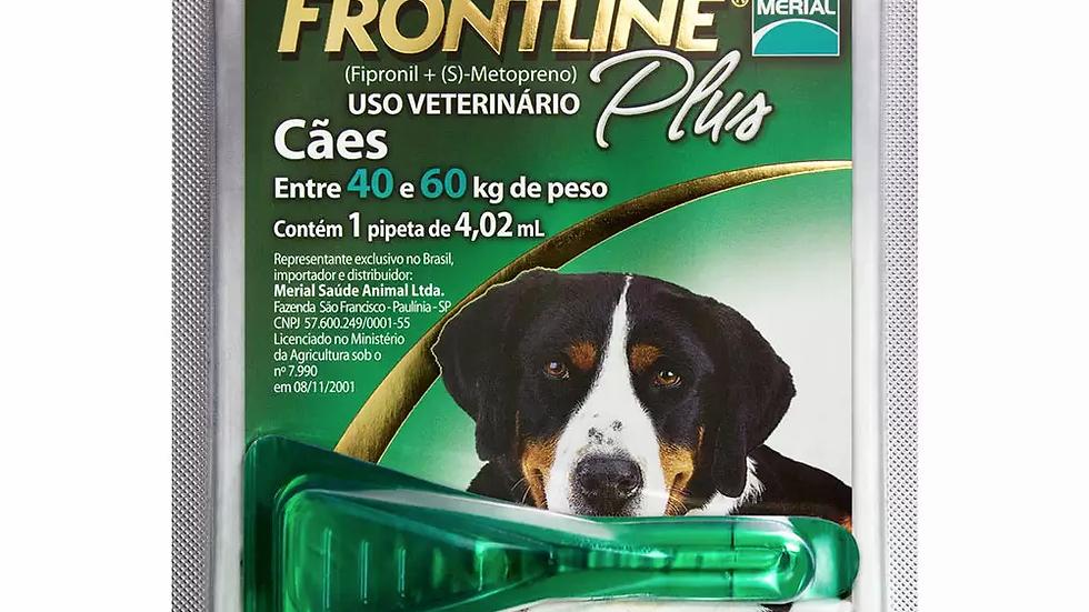 Antipulgas e Carrapatos Frontline Plus para Cães de 40 a 60kg