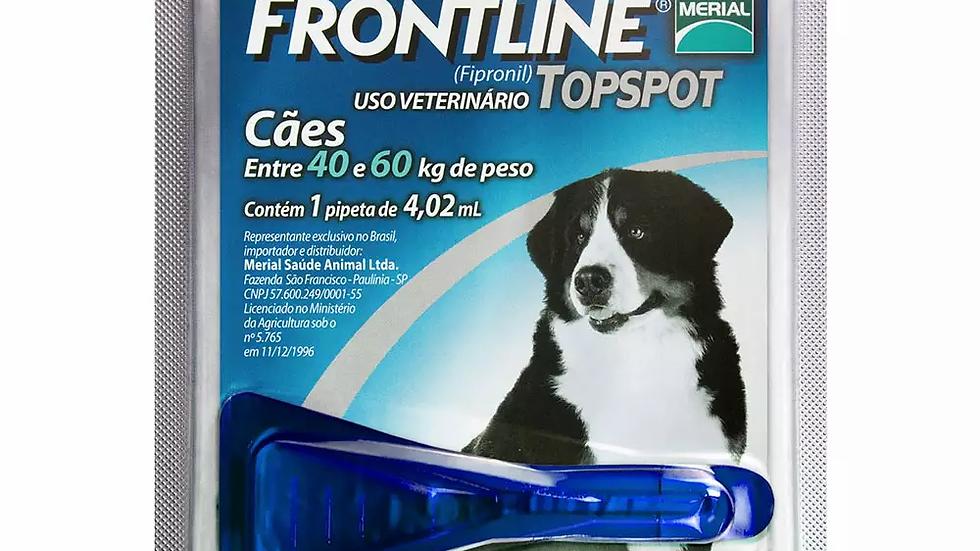 Antipulgas e Carrapatos Frontline Topspot para Cães de 40 a 60kg