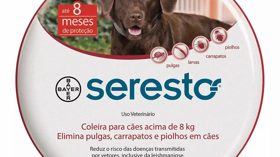 Coleira Antipulgas Seresto Cães Acima de 8kg