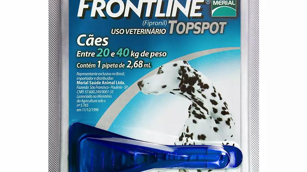 Antipulgas e Carrapatos Frontline Topspot para Cães de 20 a 40kg