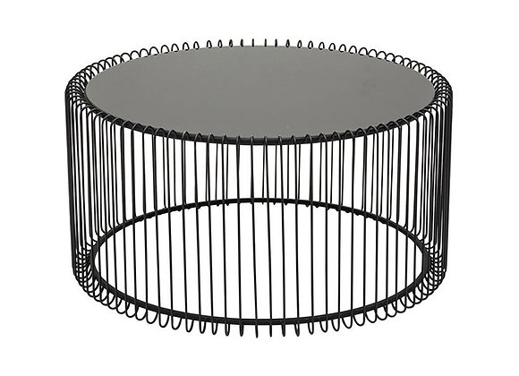 KARE Coffee Table Wire Black  L