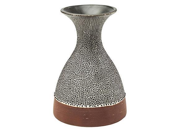 Vase Black Dots 23cm