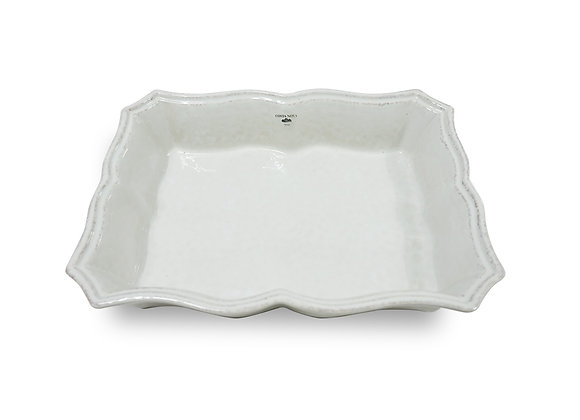 COSTA NOVA Rectangular baker 30cm, IMPRESSIONS, white