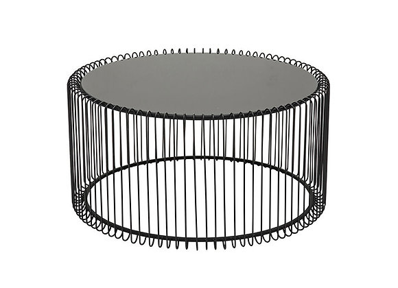 KARE Coffee Table Wire Black  M
