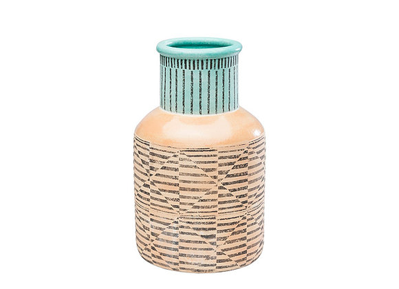 KARE Vase Shakedelic Colore 34cm