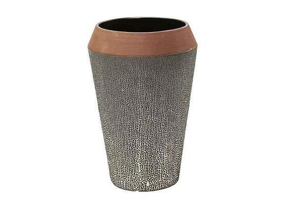 KARE Vase Black Dots 28cm