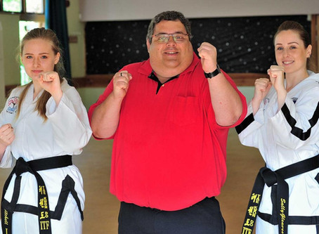 Worcestershire Martial Arts Ladies in the news!