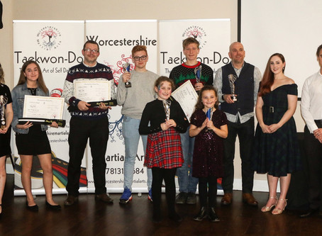 Annual Awards & Black Belt Presentation 2019