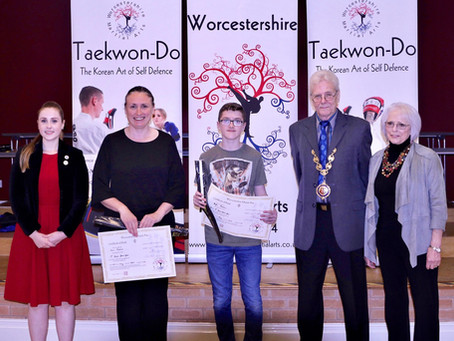 20 Year Anniversary of Droitwich Taekwon-Do & Black Belt Presentations