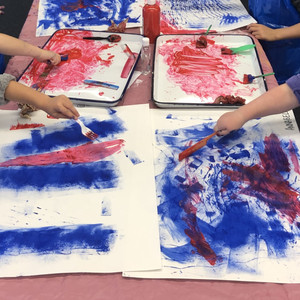 Paint Exploration - Kindergarten