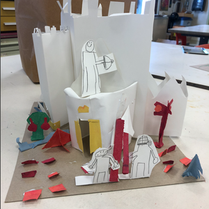 Paper Castles - 2nd Grade