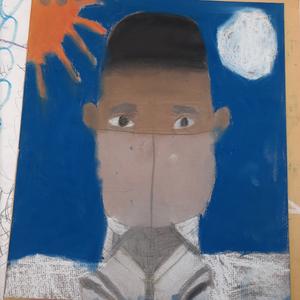 Pastel Portraits - 5th Grade